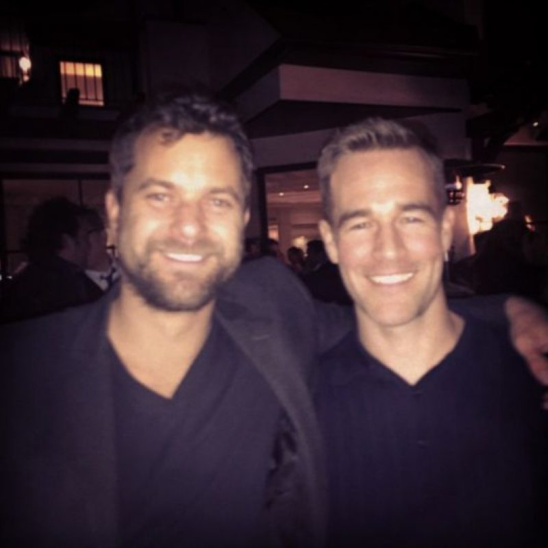 "2014, ""Dawson's Creek"" Foto: Instagram James Van Der Beek"