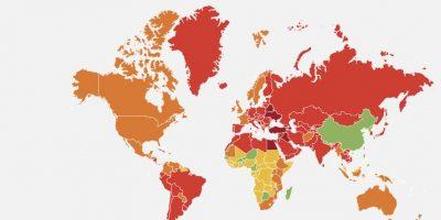 Estudio revela qué países invierten más tiempo en porno