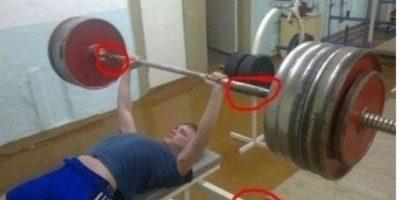 ¿Y esa pesa, qué? Foto:EpicFail
