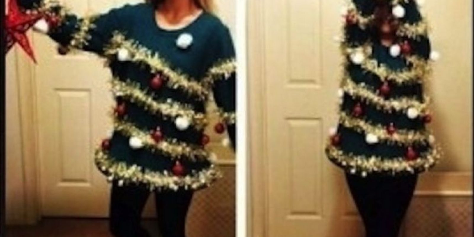 Unos se pondrán bastante navideños Foto:Fashion Fails/Pinterest