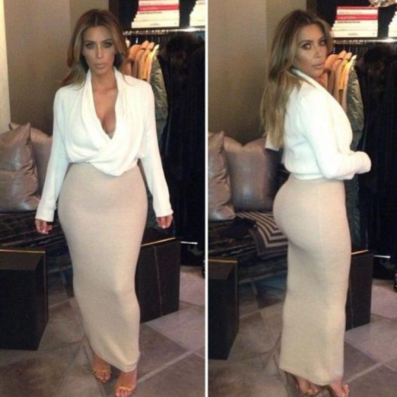 Sentirse el más guapo/a del lugar. Foto:Instagram/Kim Kardashian
