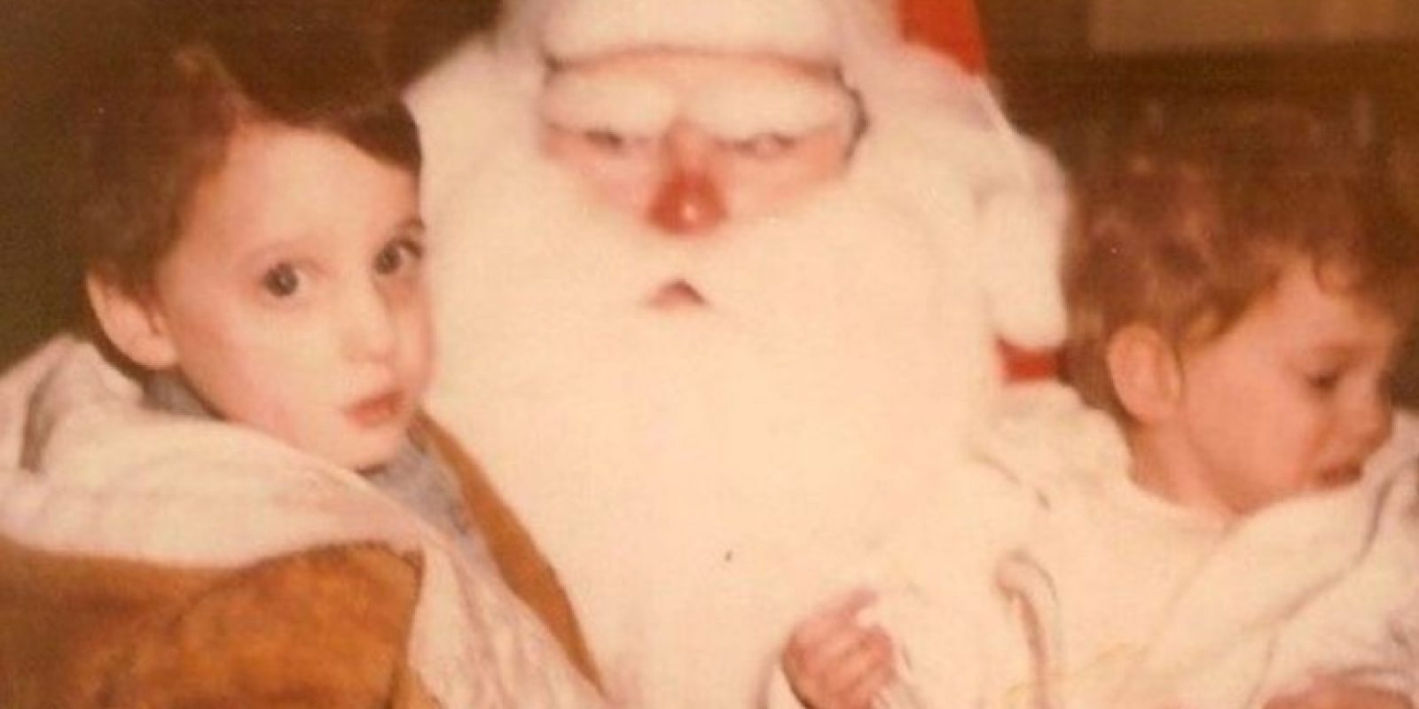 Santa enojadísimo Foto:wkward Family Photos