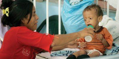 Desnutrición aumenta en cuatro departamentos