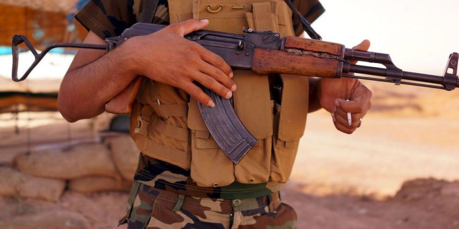 Los cuatro hombres fueron decapitados por el Estado Islámico. Foto:Getty