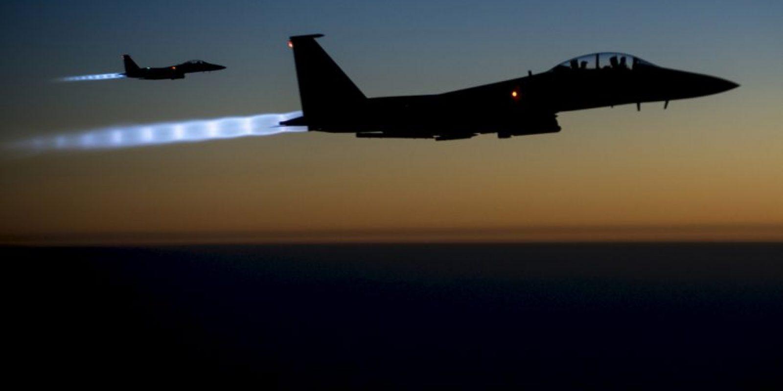 Estados Unidos lidera la lucha contra el Estado Islámico. Foto:AP
