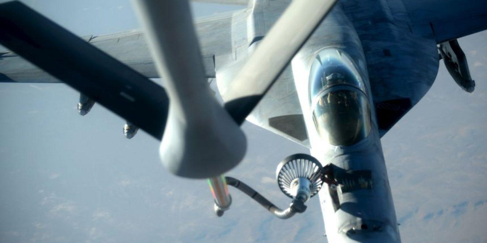 Estados Unidos junto con la coalición han realizado más de mil bombardeos en Siria. Foto:AP
