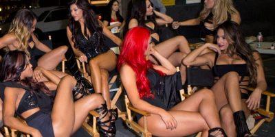 """FOTOS: Así es el detrás de cámaras del """"Total Divas"""" de la WWE"""