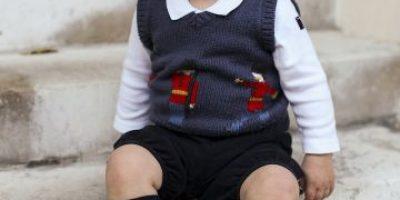 FOTOS: Las adorables imágenes navideñas del príncipe George