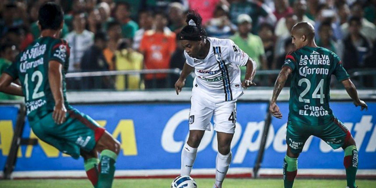 Y gracias a sus buenas refeencias, otro crack brasiló se acerca a la Liga MX Foto:Facebook: Ronaldinho Gaucho