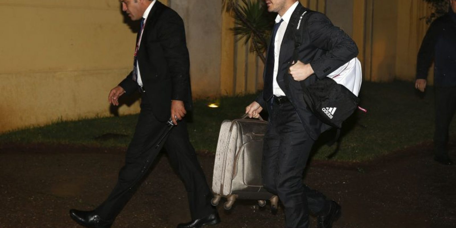 Los jugadores del cuadro merengue se instalaron ya en su hotel a la espera del juego del martes contra el Cruz Azul. Foto:EFE