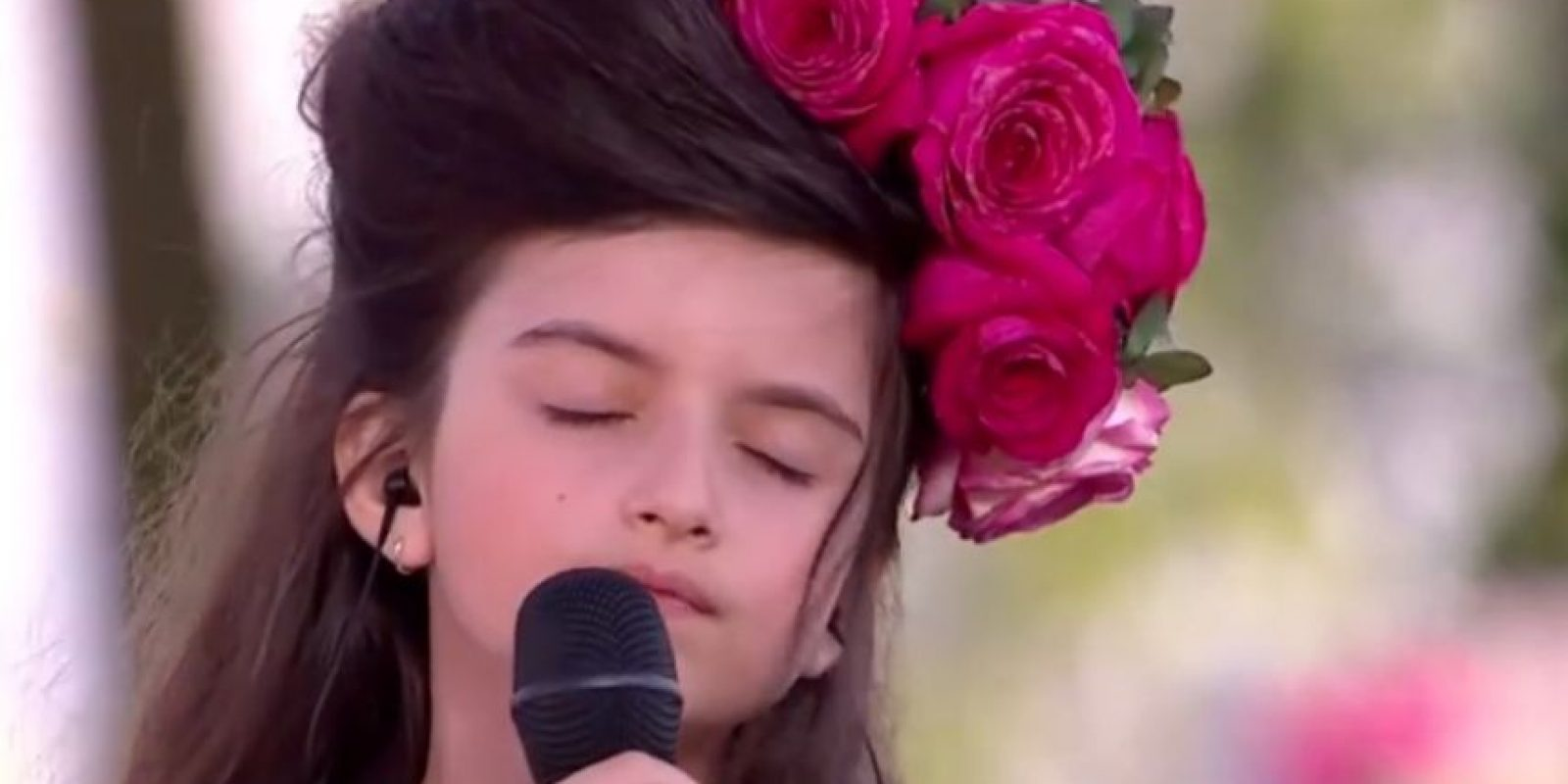 Angelina Jordan Foto: Vía Youtube
