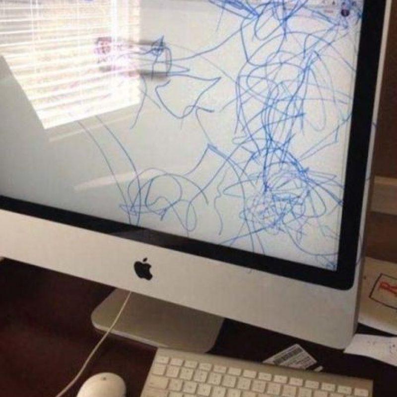 ¡Todo menos la iMac! Foto:Know Your Meme