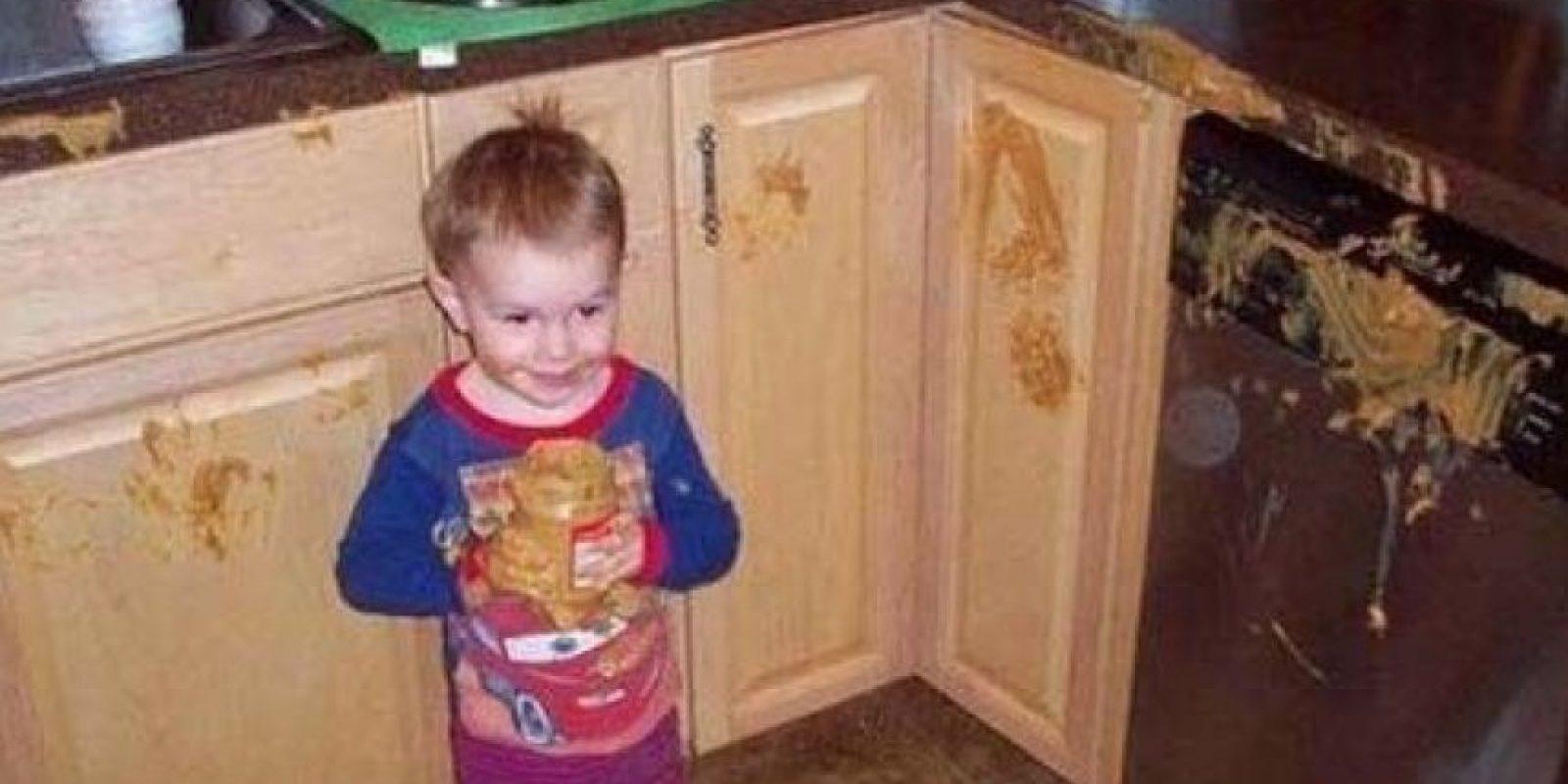 ¡Emm… Yo no hice nada! Foto:Tumblr.com/Tagged-niños-travesuras