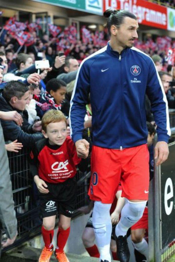 La cadena noruega Dressman creó la marca de ropa deportiva de Zlatan. Foto:AFP