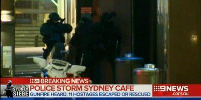 VIDEO. Tensión en Sydney por la toma de rehenes en una cafetería
