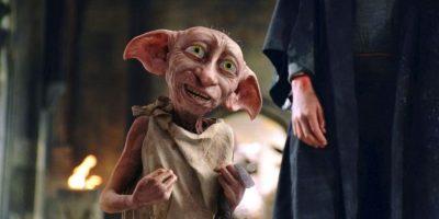 Para las escenas del personaje Dobby se utilizó una pelota y una vara, después fue agregado digitalmente. Foto:Facebook/Harry Potter