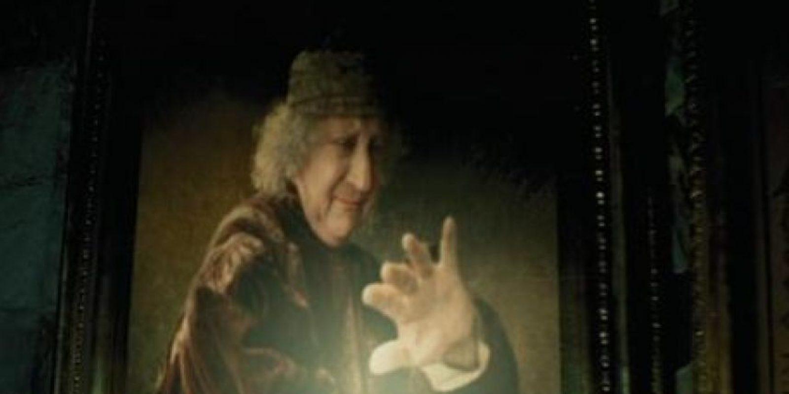 """Alfonso Cuarón hace un cameo como un personaje de una pintura en """"Harry Potter y el Prisionero de Azkaban"""" Foto:Twitter"""