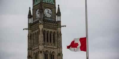 Ataque al Parlamento de Canadá, en donde falleció el soldado Nathan Cirilo Foto:Getty Images