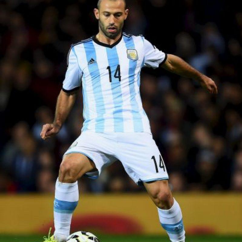El argentino hizo un gran Mundial Foto:Getty