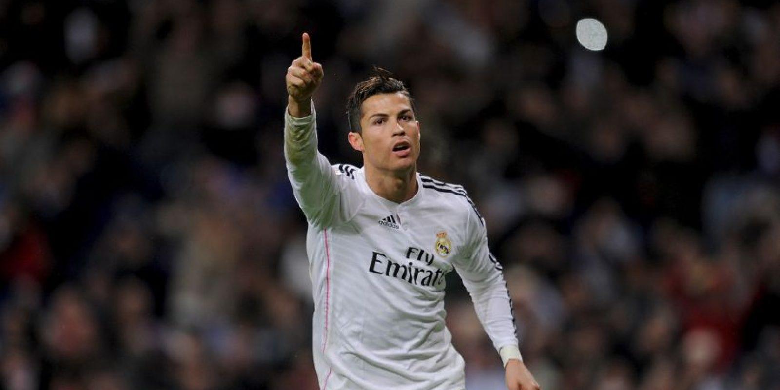 También escogió a Cristiano Ronaldo Foto:Getty