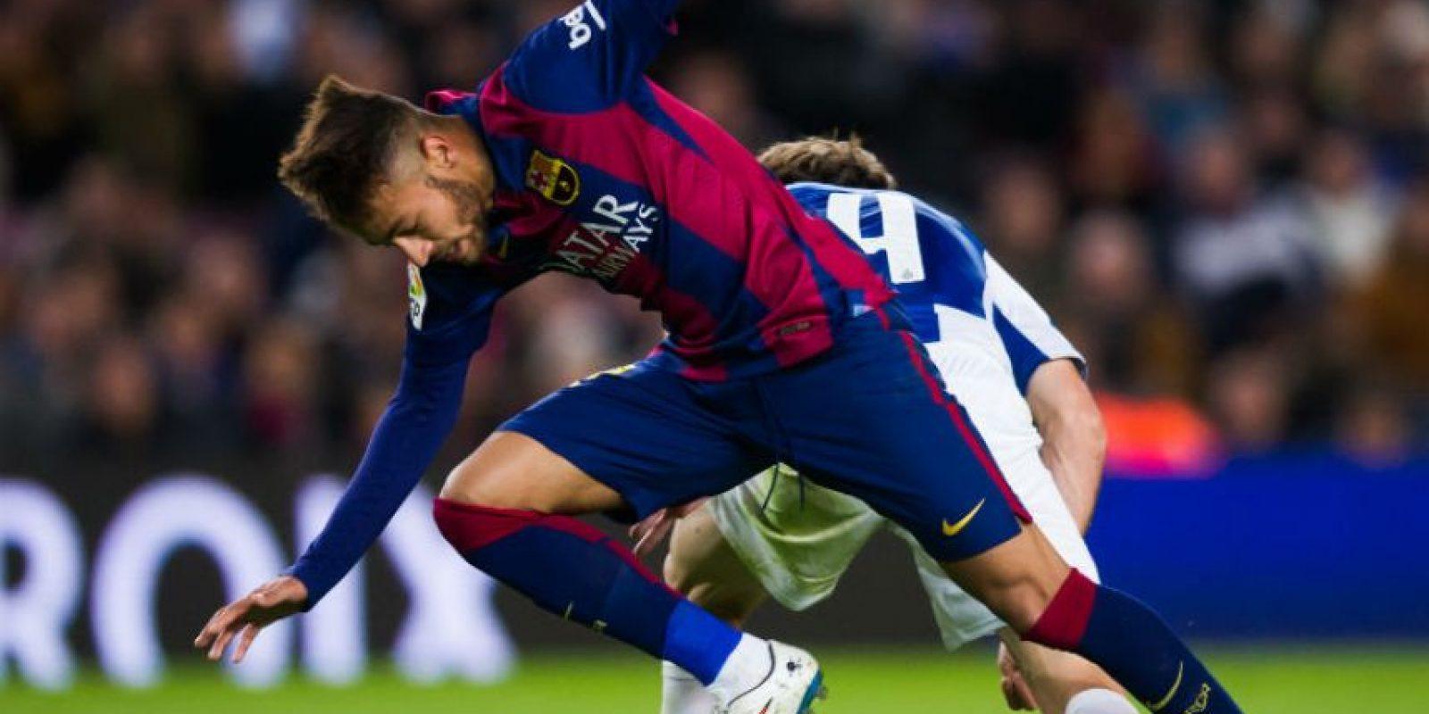 Mencionó a dos compañeros del Barcelona y un jugador del Real Madrid Foto:Getty