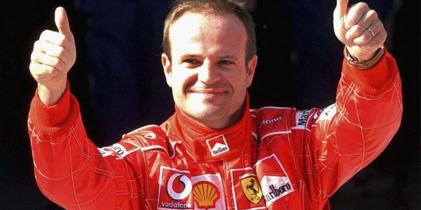 En la temporada 2002 y 2004, Barrichello quedó en segunda lugar del campeonato de pilotos. Foto:Getty Images