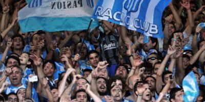 Así celebró la afición de Racing Club, el campeonato del futbol argentino. Foto:AFP