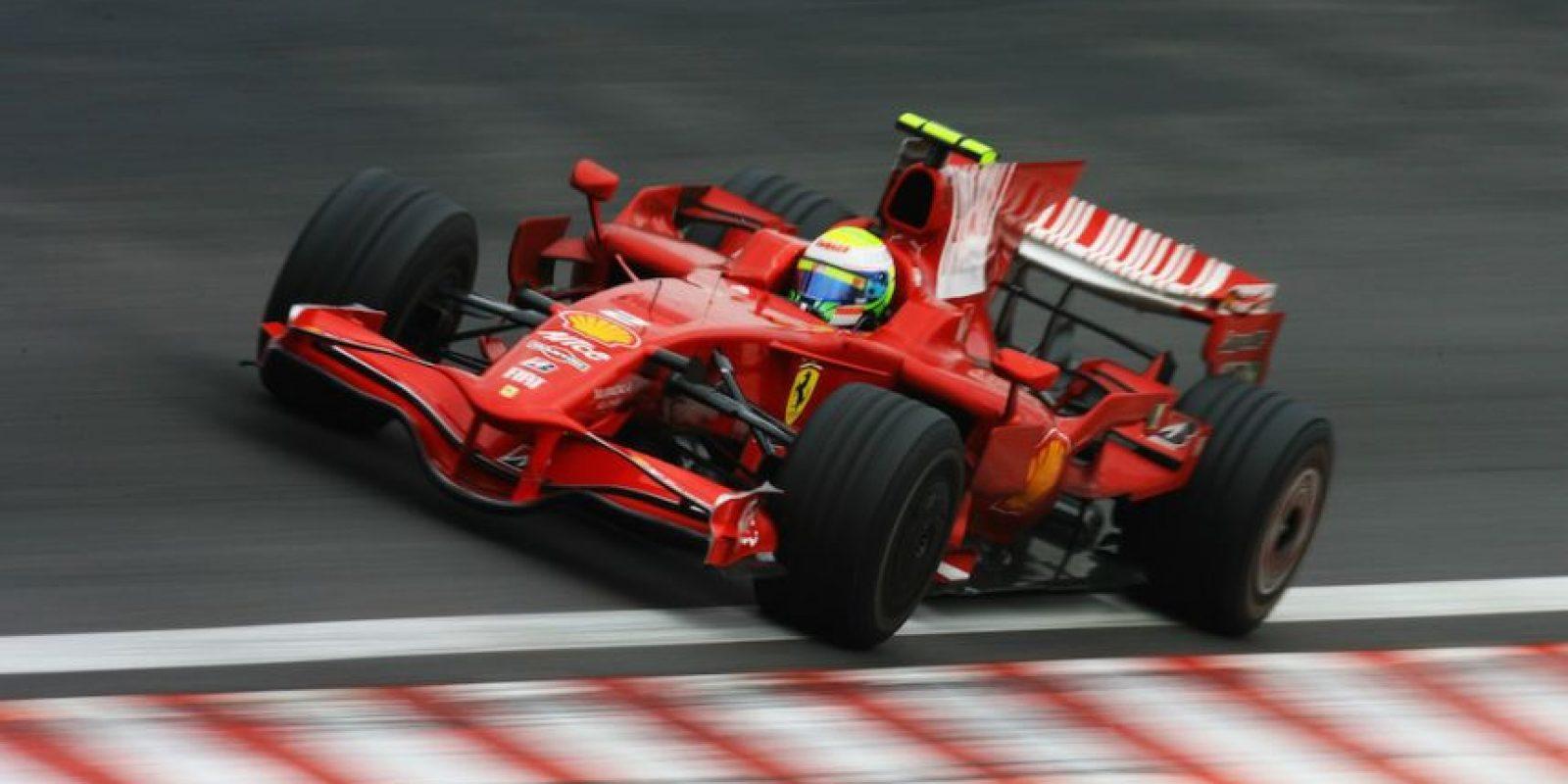 Massa estuvo en la escudería italiana durante ocho temporadas. Foto:Getty Images