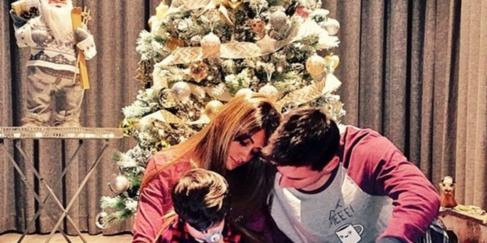 Lionel Messi con su familia Foto:Instagram: @antoroccuzzo88