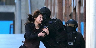 Las 18 imágenes más abrumadoras del atentado en Sidney