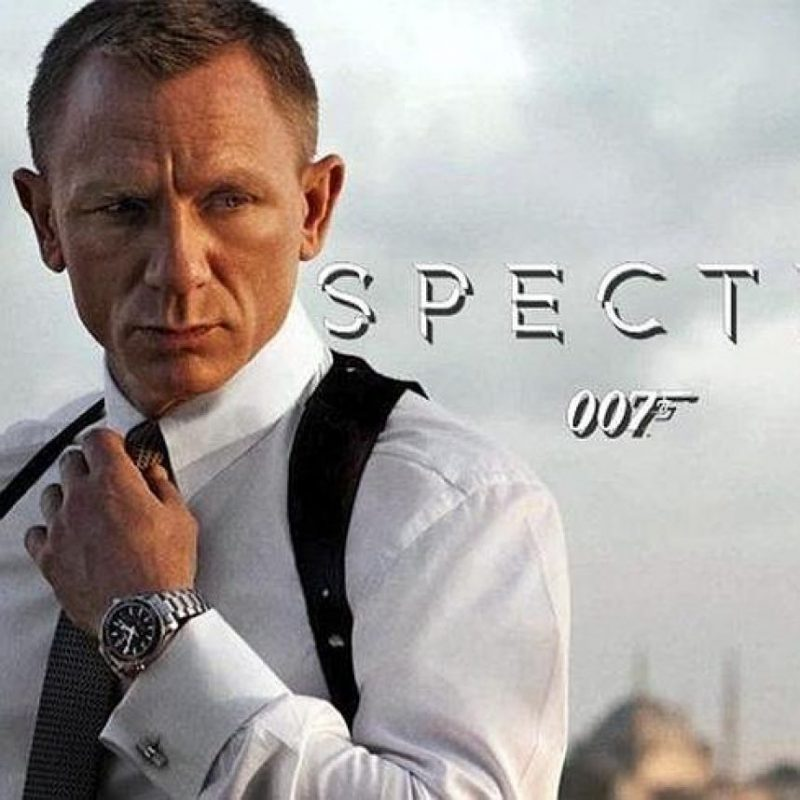 La próxima película de James Bond, 'Spectre', ha excedido con mucho su presupuesto Foto:Agencias