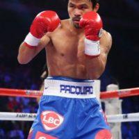 El filipino indicó que no peleará por dinero Foto:Getty