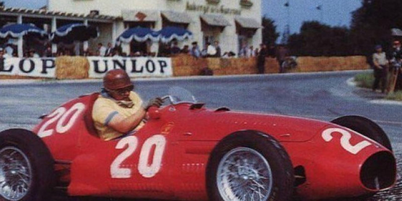 José Froilán González, piloto argentino (1951, 1954-1955, 1957, 1960). Foto:Twitter