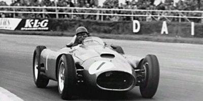 En 1956 obtuvo el campeonato de pilotos con 30 puntos. Foto:Twitter