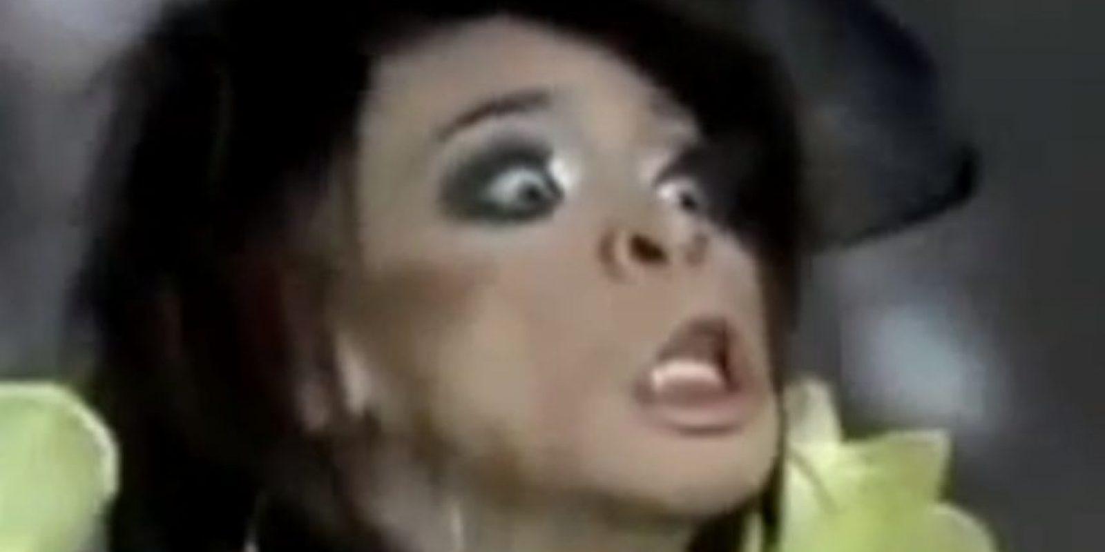 "Un travesti filipino de ""Filipinas tiene talento"" en 2010 cantó como un caballo Foto:Youtube"