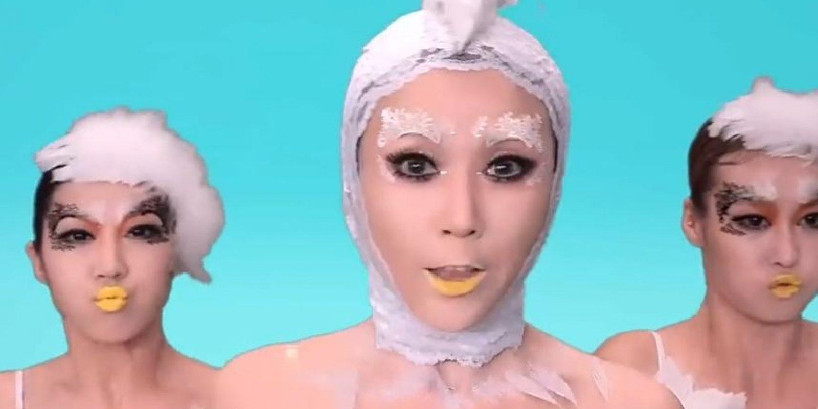 """Wang Rong lanzó un video en noviembre que se titula literalmente """"Polluelo, polluelo"""" Foto:Youtube/WangRong"""