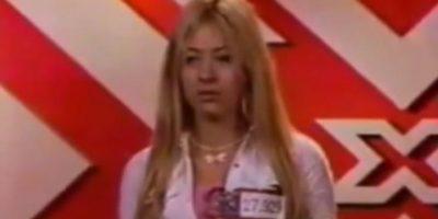 """Esta mujer se hizo famosa por imitar de pésima manera a Britney Spears en el """"Factor X"""" colombiano de 2005 Foto:RCN"""