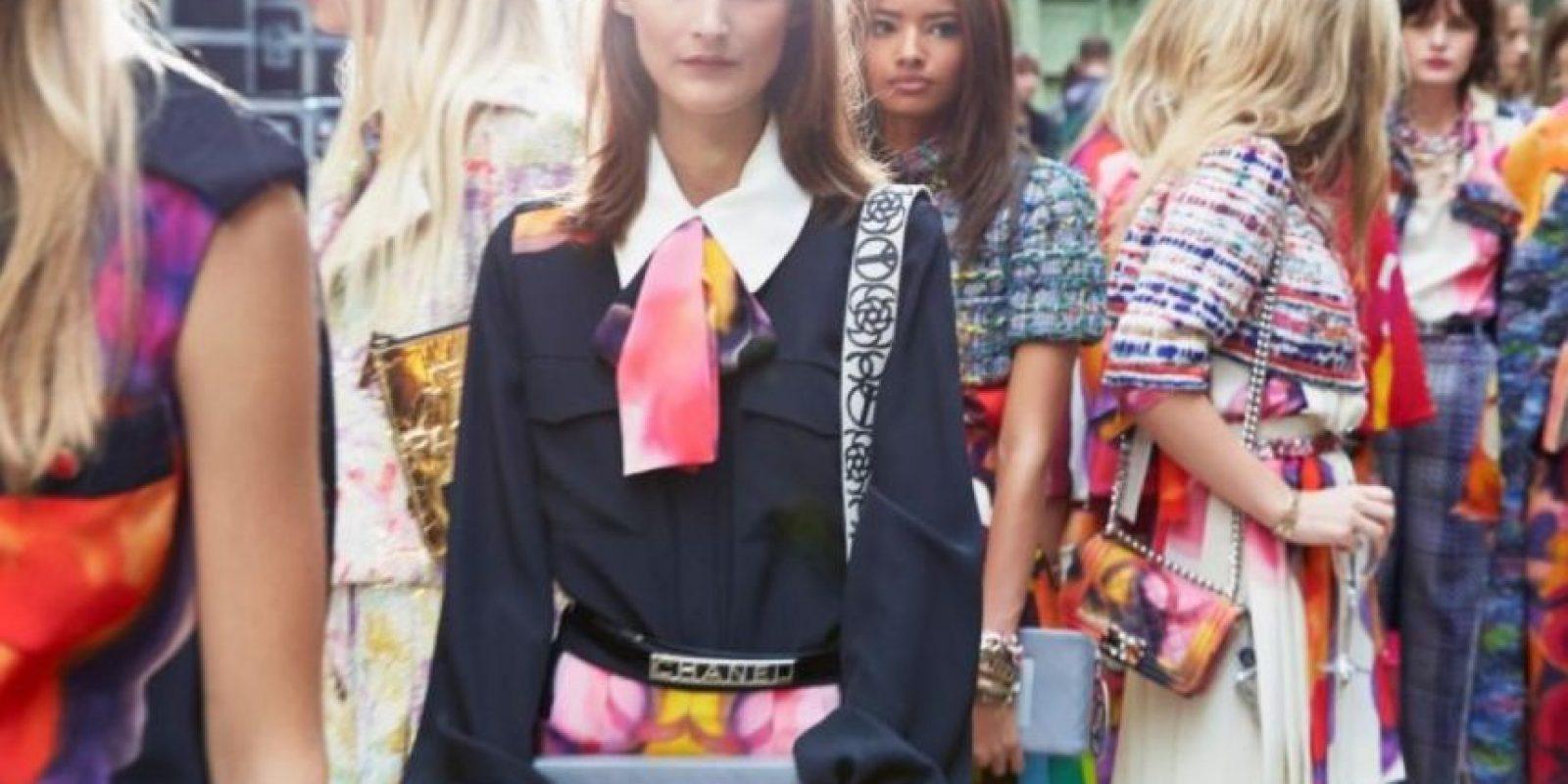 """Algo que causó polémica, al querer """"banalizar"""" el movimiento. Foto:Chanel"""