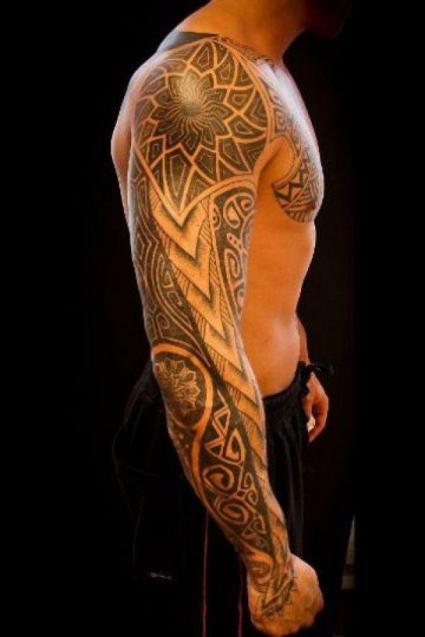 No importa si es azteca o maorí. Foto:Pinterest