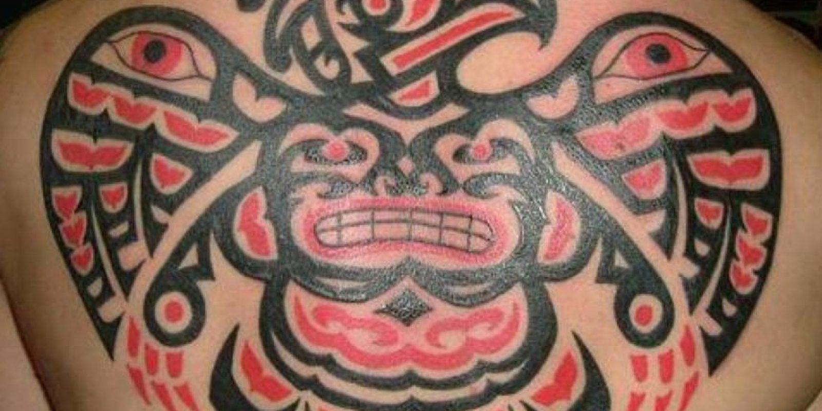 Tatuajes tribales porque sí. Foto:StyleSatMag