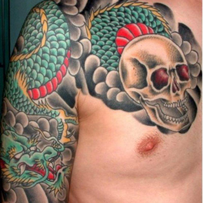 El tatuaje japonés en todas sus variantes. Foto:Pinterest