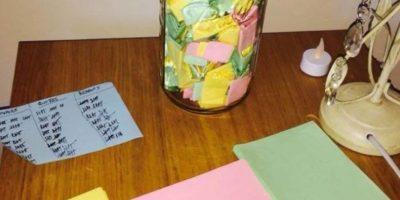 Por cada día del año le escribió algo romántico a su novia. Foto:Reddit