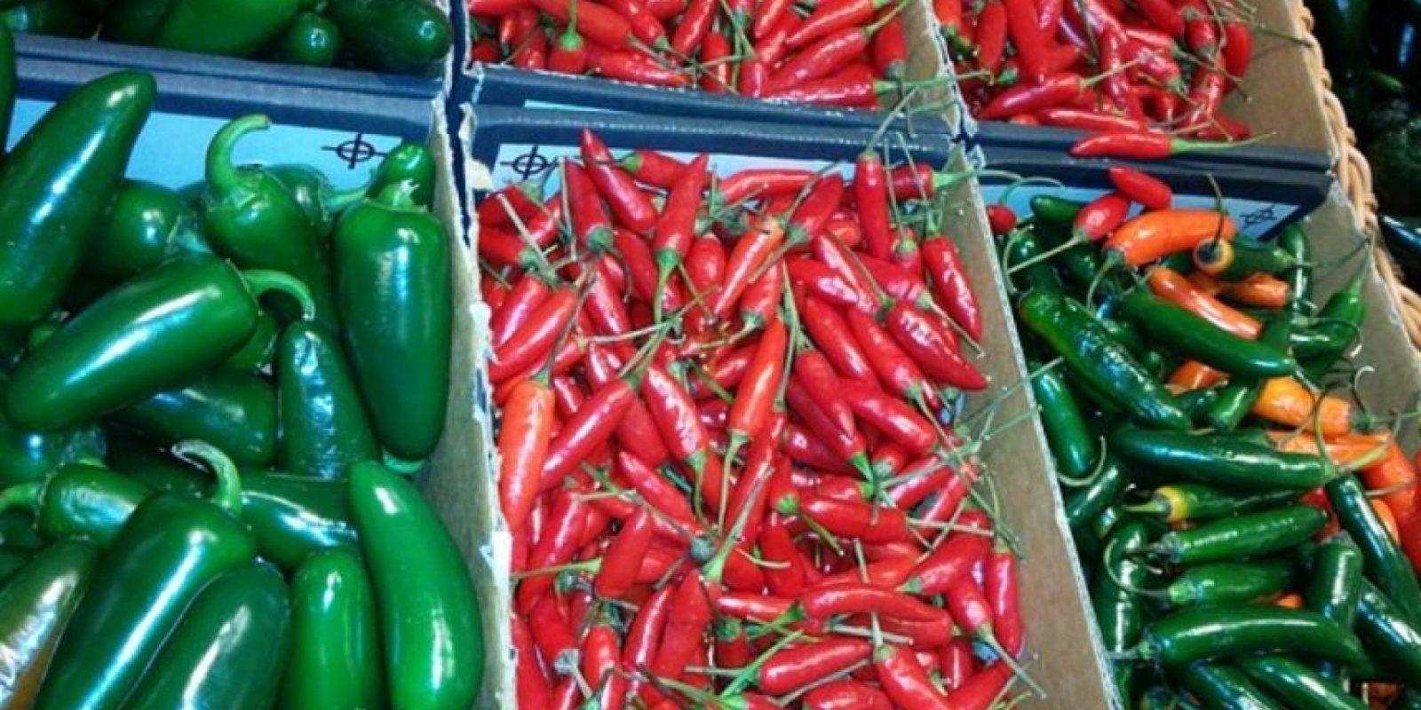"""""""También es posible que el consumo regular de alimentos picantes contribuya a aumentar el nivel de testosterona"""". Foto:Wikimedia"""