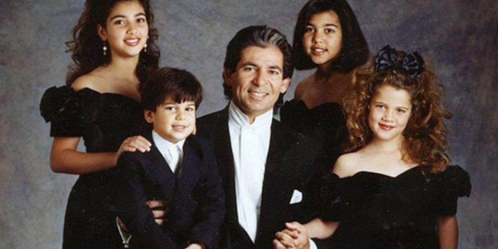 Una vez más, Robert y los niños en un retrato adorable Foto:celebuzz