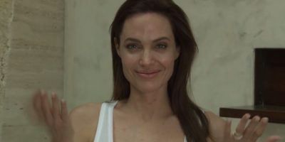VIDEO: ¿Qué le pasó a Angelina Jolie? La actriz no puede salir de su casa