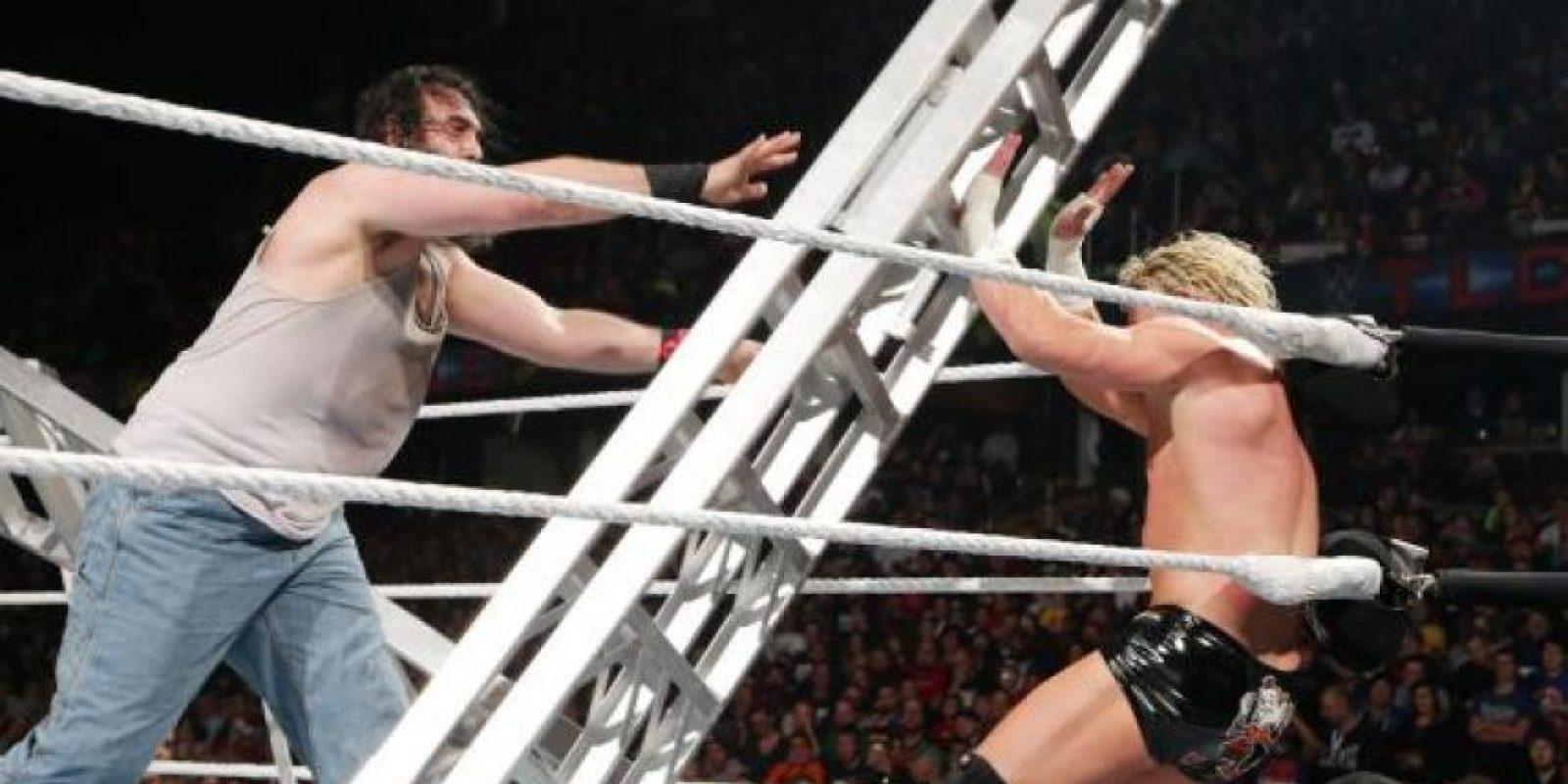 La pelea entre Luke Harper y Dolph Ziggler fue la más violenta Foto:WWE