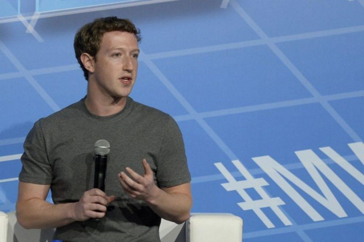 Mark Zuckerberg es CEO de Facebook. Foto:Getty Images