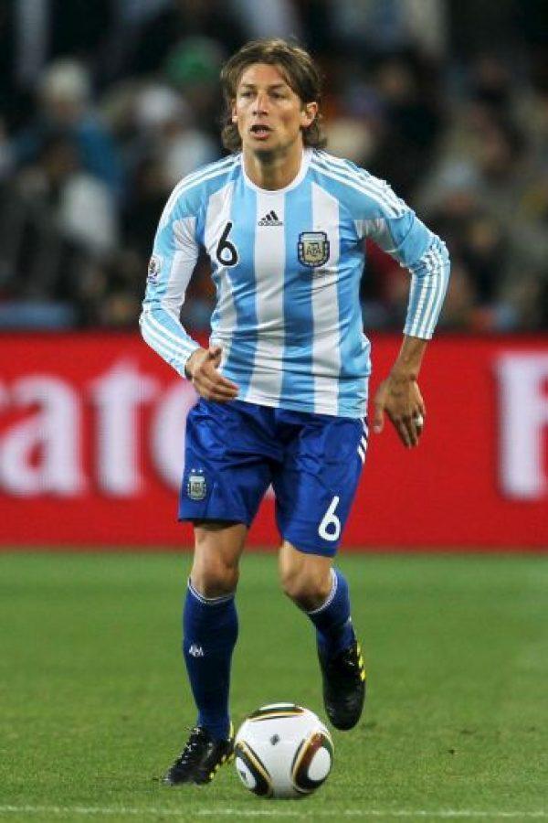 Gabriel Heinze – Argentina. Foto:Getty Images