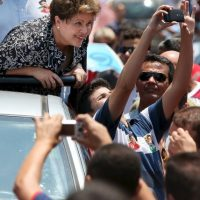 Dilma Roussef, presidenta de Brasil Foto:Getty Images