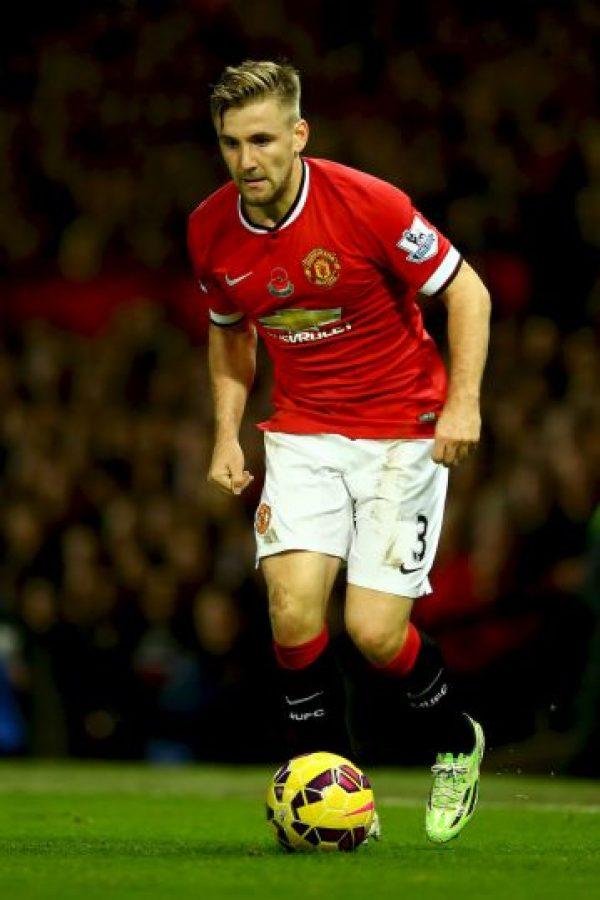Luke Shaw (130.9 millones de euros). Foto:Getty Images